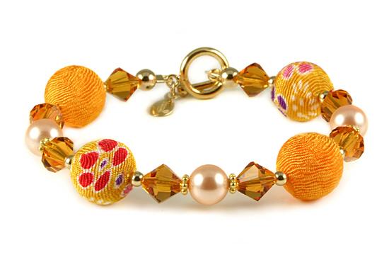 Kimono Bracelet = Yumi Chen Designs :  kimono designer jewelry yumichen