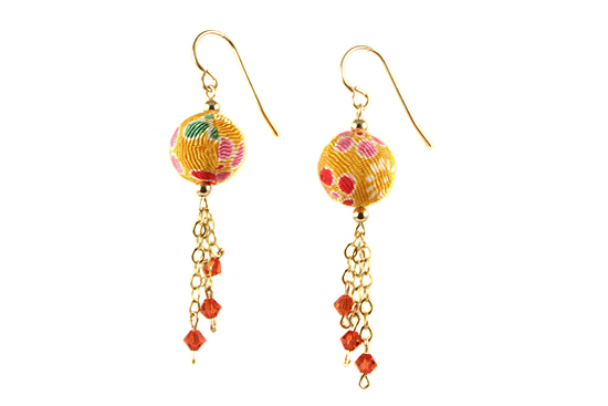 Kimono Earrings : Yumi Chen Designs