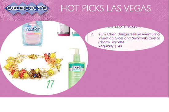 Shecky's Hot Picks Las Vegas, July 2008